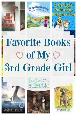 Book List Favorite Books Of My Girl 3rd Grade Lextin Eclectic